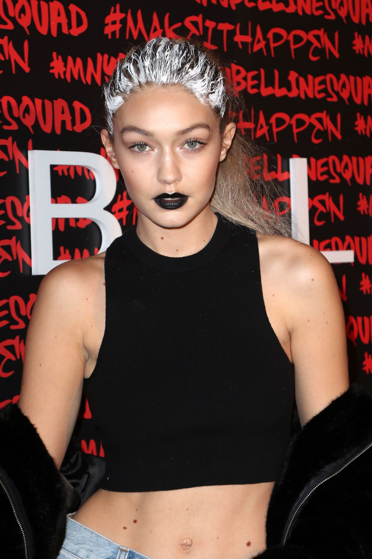 GIGI HADID at Maybelline New York Celebrates Fashion Week 02/12/2016