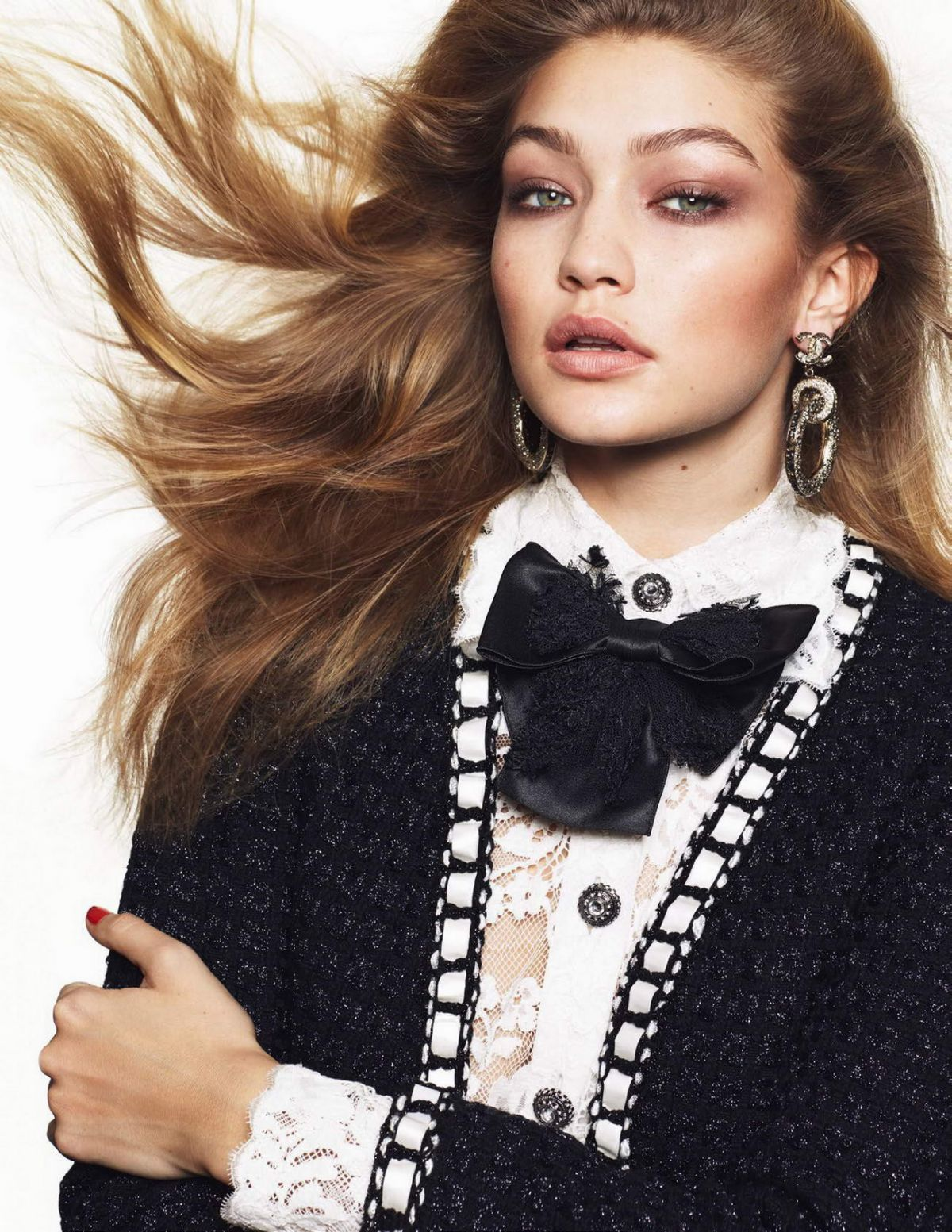 GIGI HADID in Vogue Magazine, March 2016 Issue - HawtCelebs ...