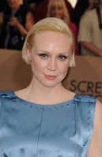 GWENDOLINE CHRISTIE at Screen Actors Guild Awards 2016 in Los Angeles 01/30/2016