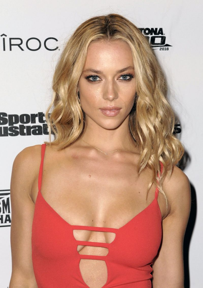 HANNAH FERGUSON at Sports Illustrated Swimsuit 2016 – A Night at Sea VIP Boat Cruise in Miami 02/18/2016