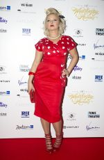 HANNAH SPEARRITT at Whatsonstage Awards in London 02/21/2016