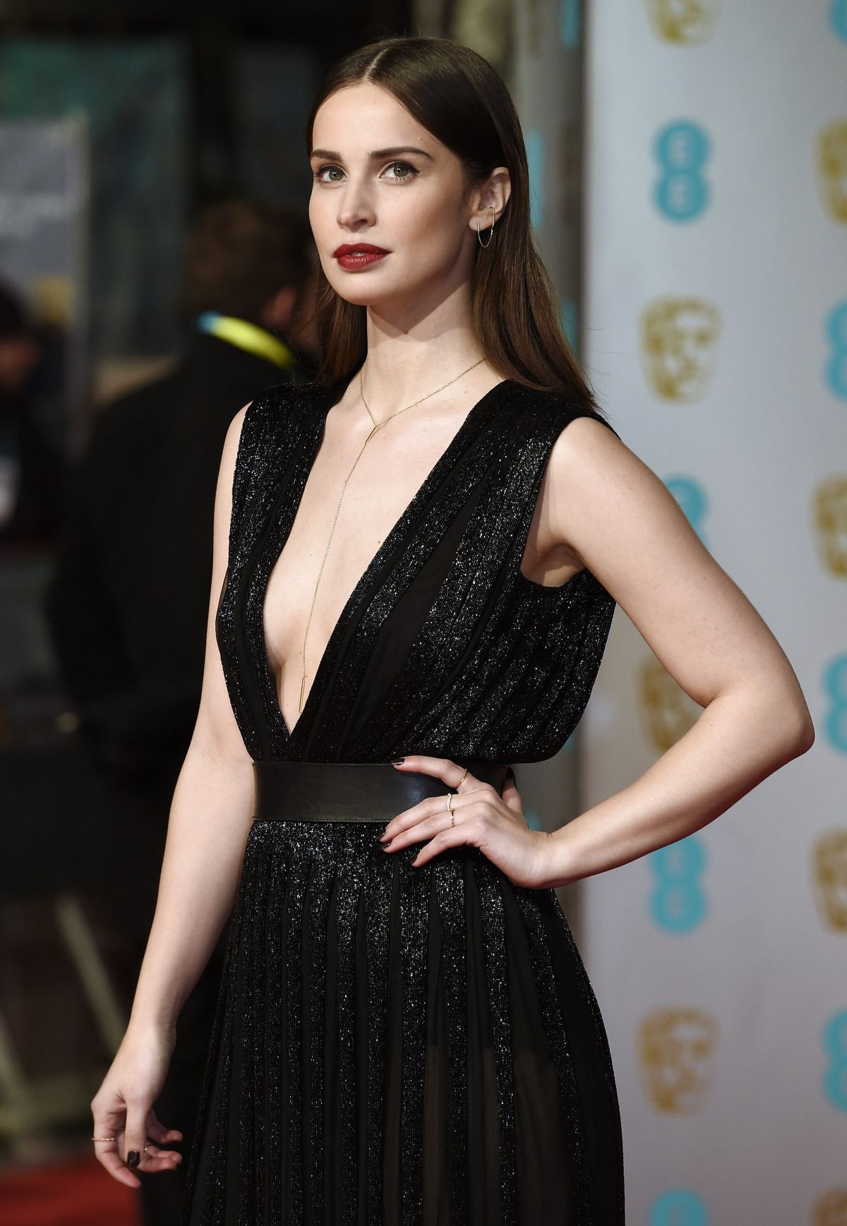 HEIDA REED at British Academy of Film and Television Arts Awards 2016 in London 02/14/2016