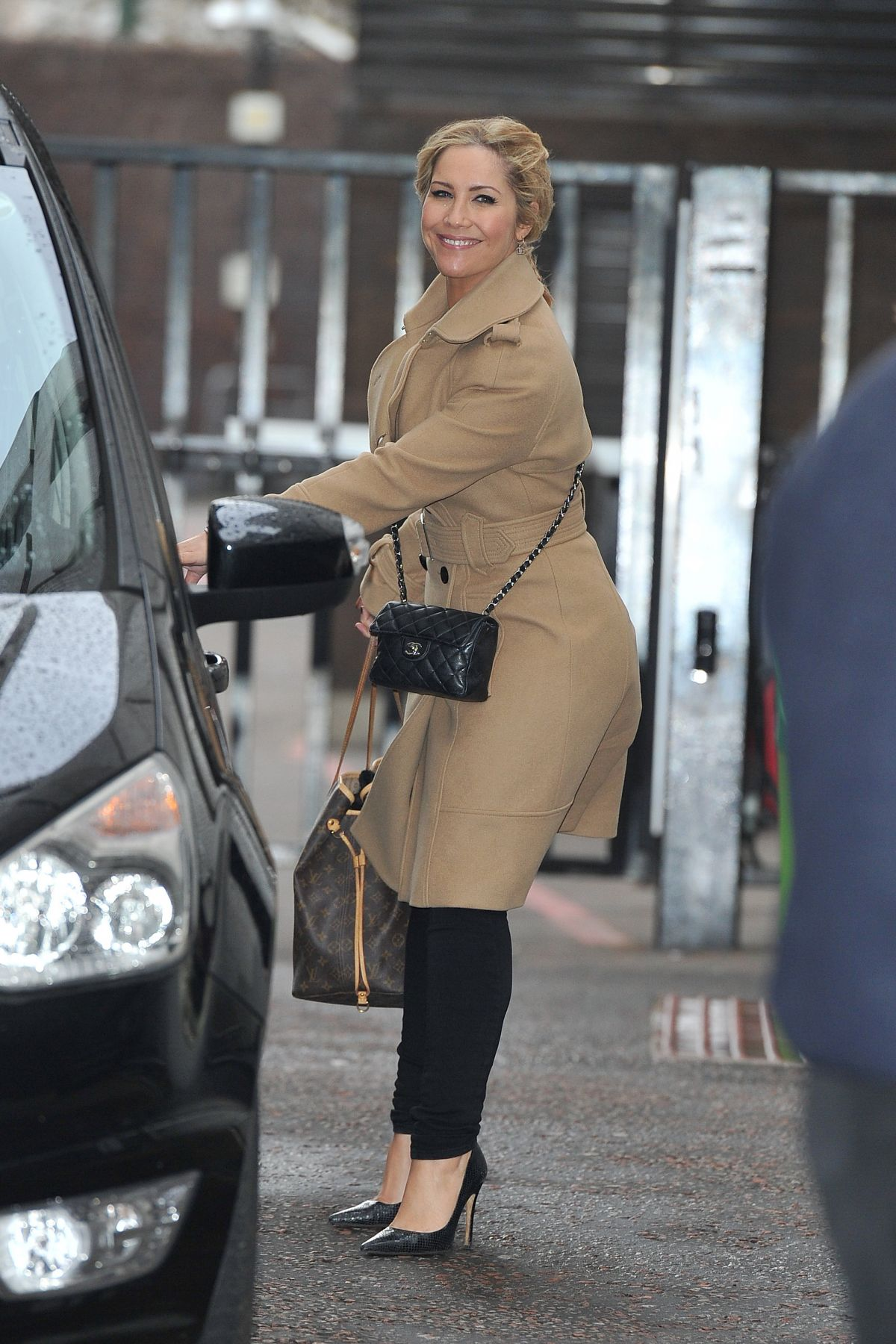 Heidi Range At Itv Studios In London 02  02  2016