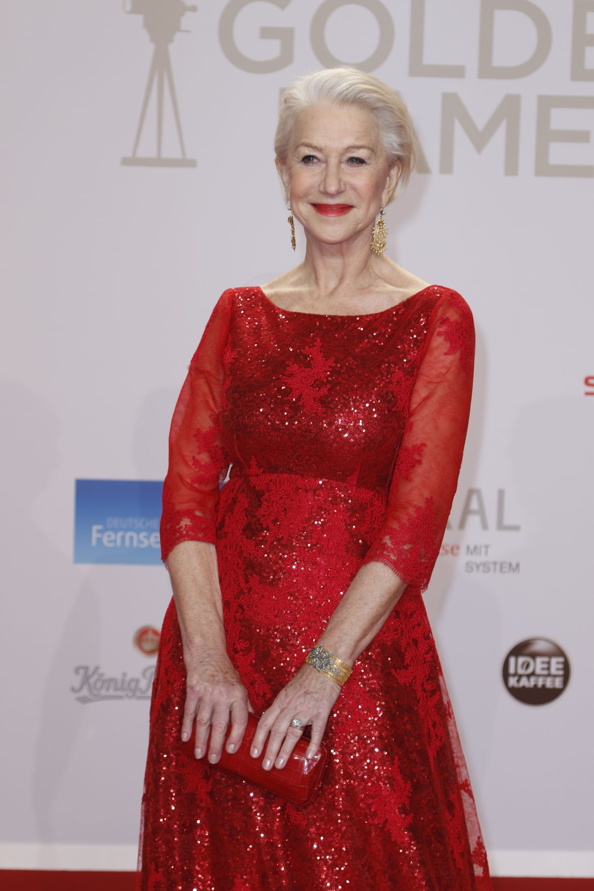 HELEN MIRREN at 51st Annual Goldene Kamera Award in Hamburg  02/06/2016