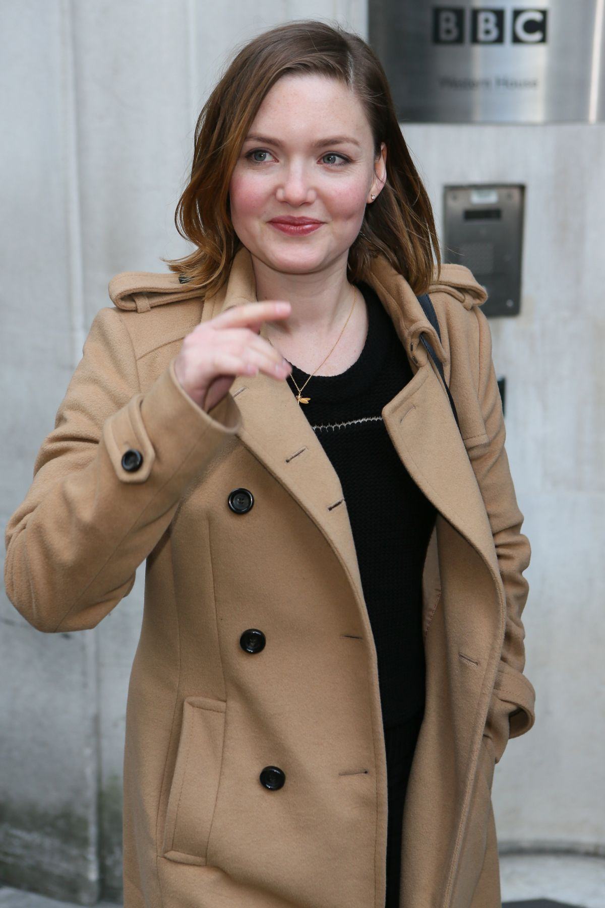 HOLLIDAY GRAINGER at BBC Radio 2 Studios in London 02/12/2016