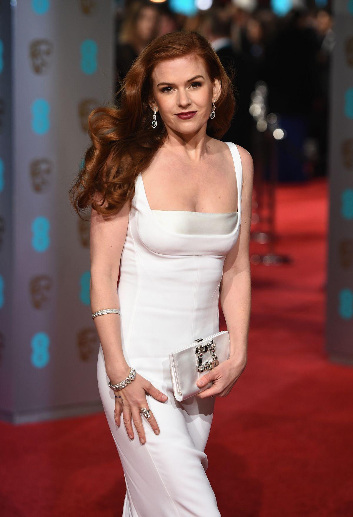 Isla Fisher At British Academy Film Awards 2016 In London