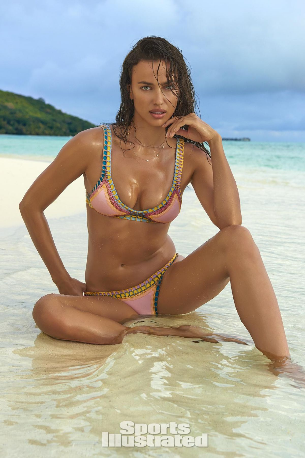 IRINA SHAYK in Sports Illustrated Swimsuit Issue 2016