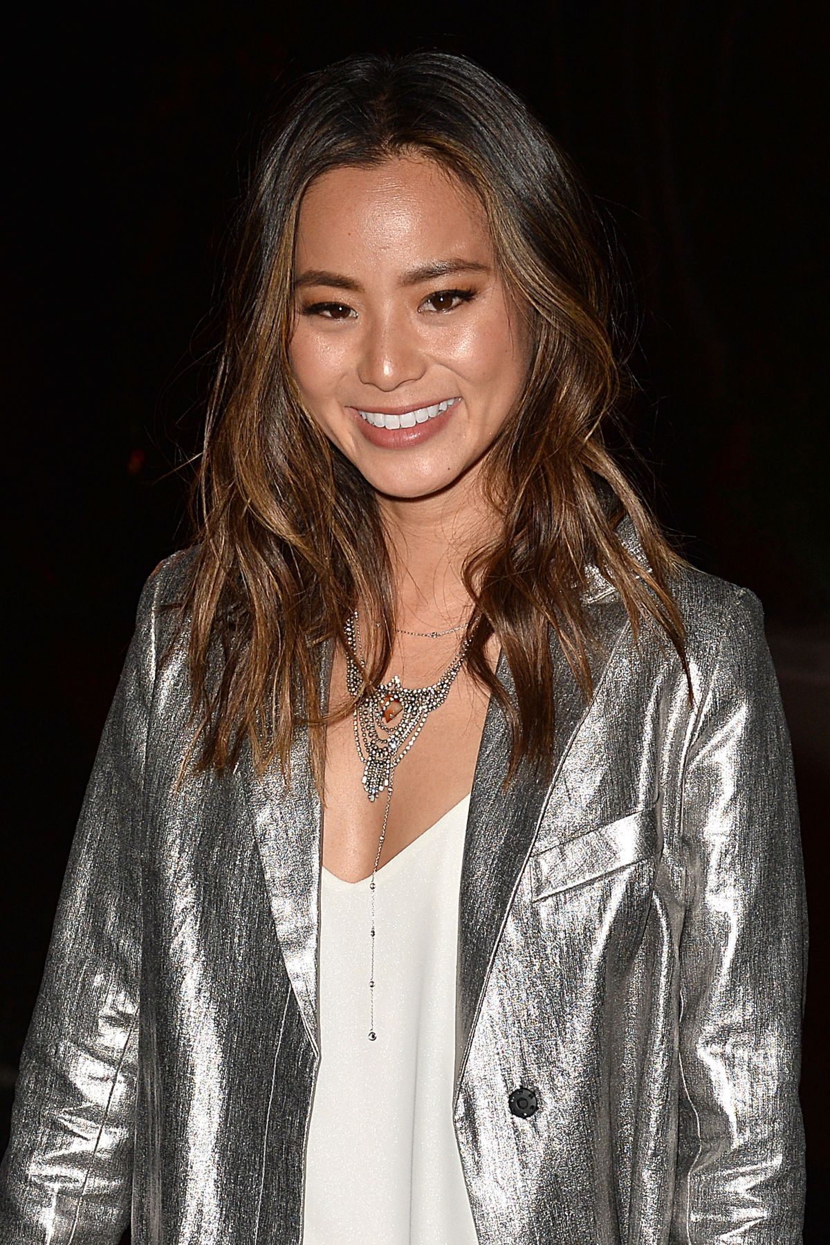 JAMIE CHUNG Night Out in Beverly Hills 02/23/2016
