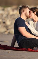 JAMIE-LYNN SIGLER and Cutter Dykstra Enjoying Their Honeymoon in Santa Barbara 01/24/2016