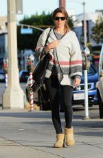 JAMIE-LYNN SIGLER Out and About in Los Angeles 02/01/2016