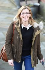 JANE DANSON Leaves Key 103 Radio Station in Manchester 02/12/2016