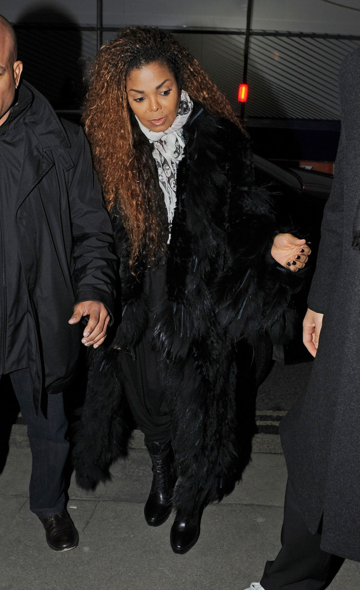 JANET JACKSON at Lazarides Art Gallery in London 02/10/2016