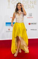 JANINA UNSHE at 51st Annual Goldene Kamera Award in Hamburg 02/06/2016
