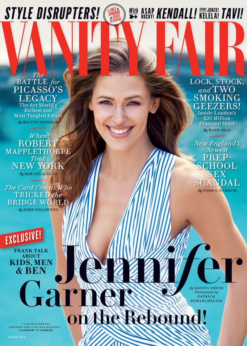 jeJENNIFER GARNER by Patrick Demarchelier for Vanity Fair Magazine