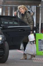JEMMA REDGRAVE Leaves ITV Studios in London 02/03/2016