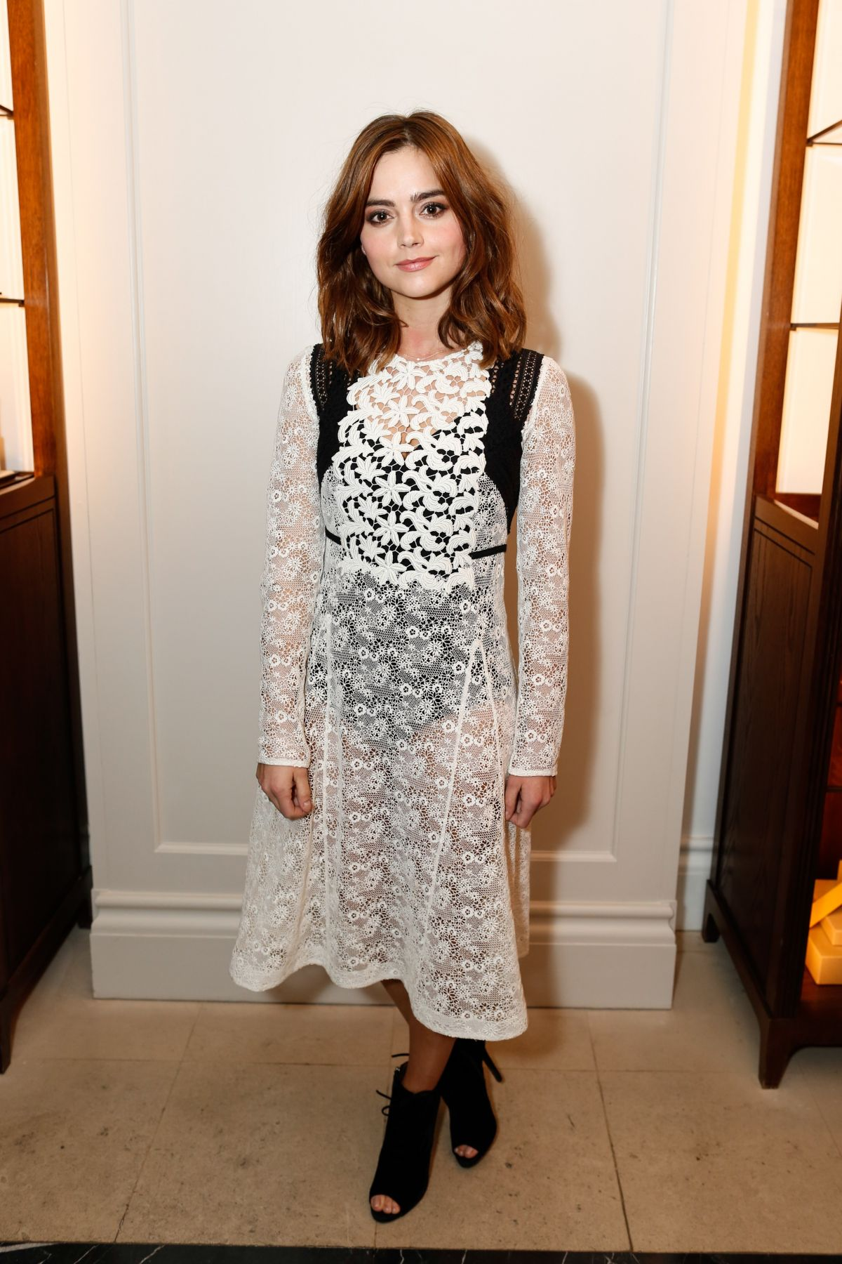 JENNA LOUISE COLEMAN at So It Goes & Burberry Event in ...