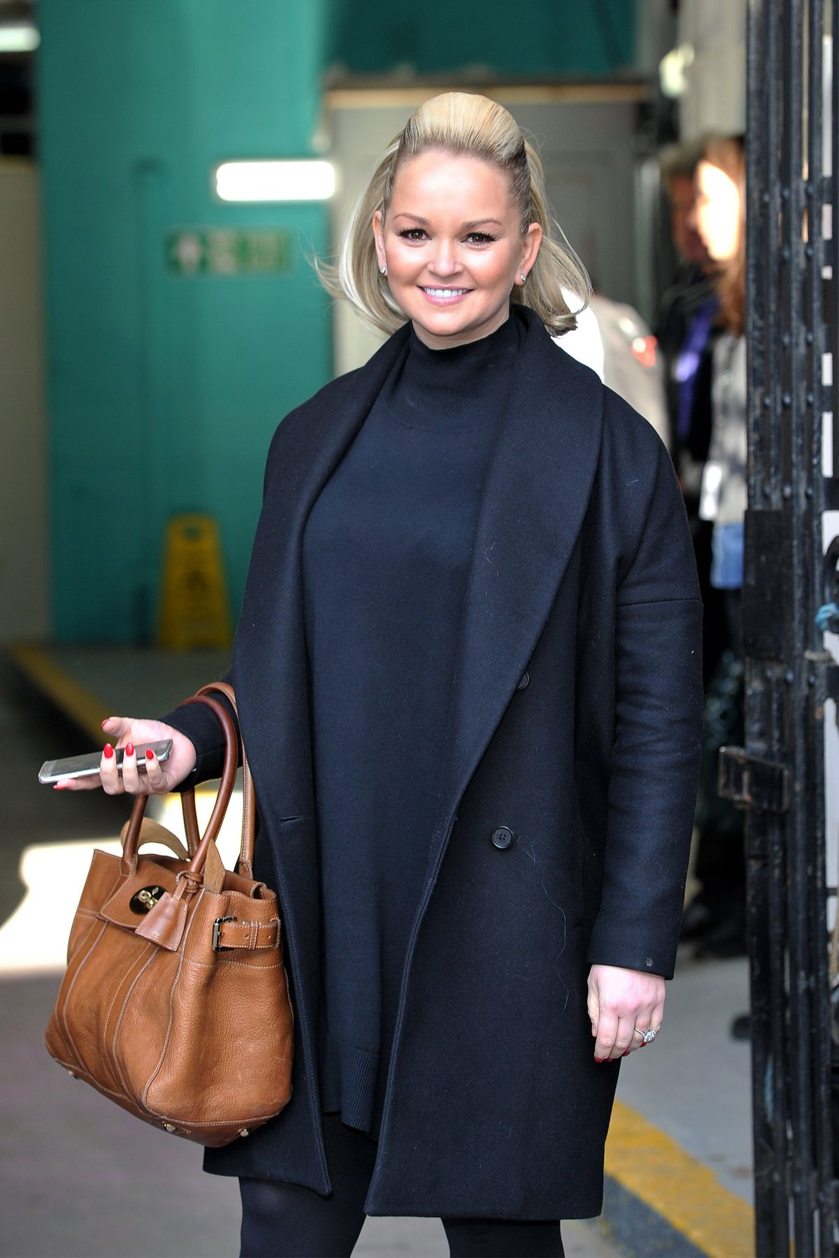 JENNIFER ELLISON at ITV Studios in London 02/02/2016