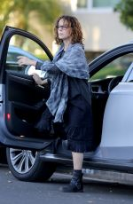JENNIFER GREY Out and About in Los Angeles 02/15/2016