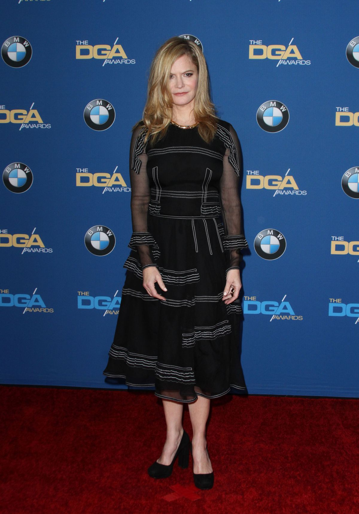JENNIFER JASON LEIGH at 68th Annual Directors Guild of America Awards in Los Angeles 02/06/2016
