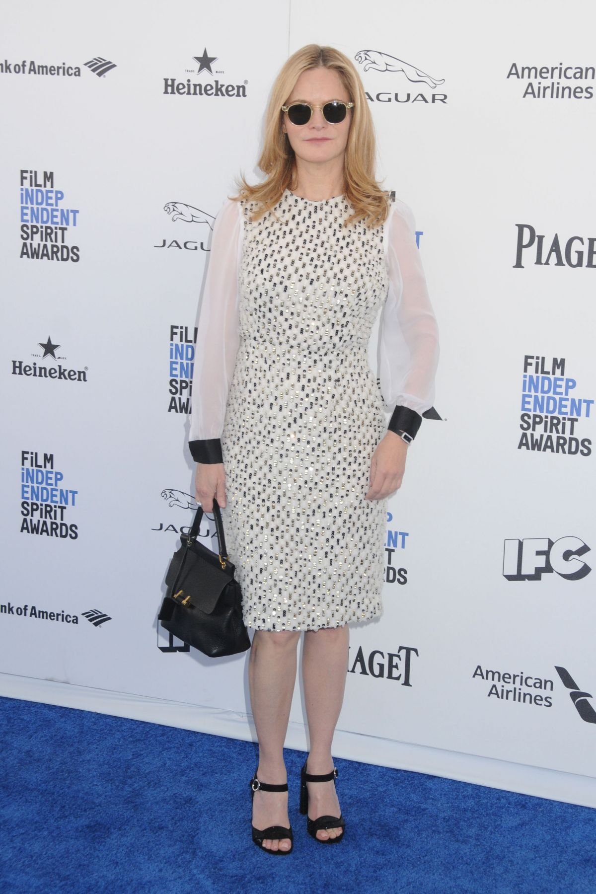 JENNIFER JASON LEIGH at Film Independent Spirit Awards in Santa Monica 02/27/2016