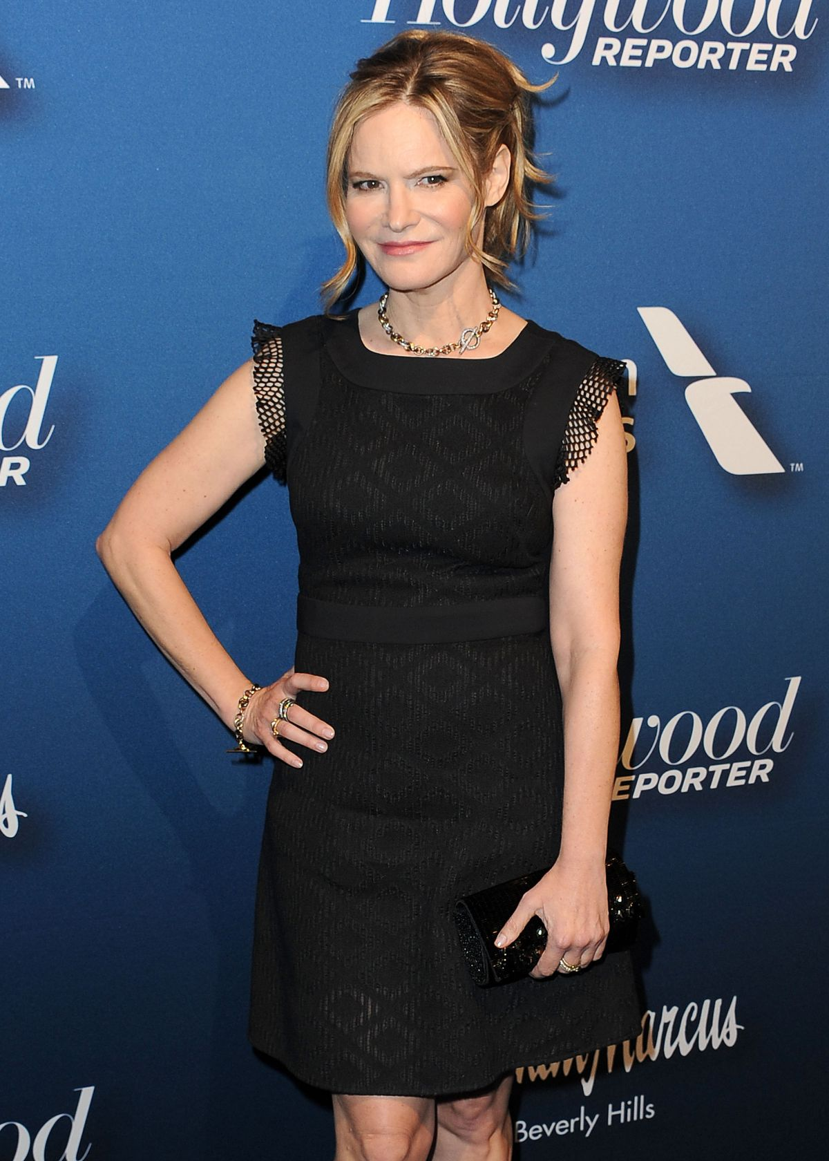 JENNIFER JASON LEIGH at Hollywood Reporter's 4th Annual Nominees Night in Beverly Hills 02/08/2016