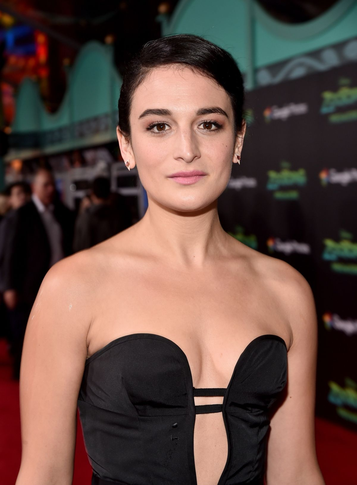 JENNY SLATE at Zootopia Premiere in Hollywood 02/17/2016