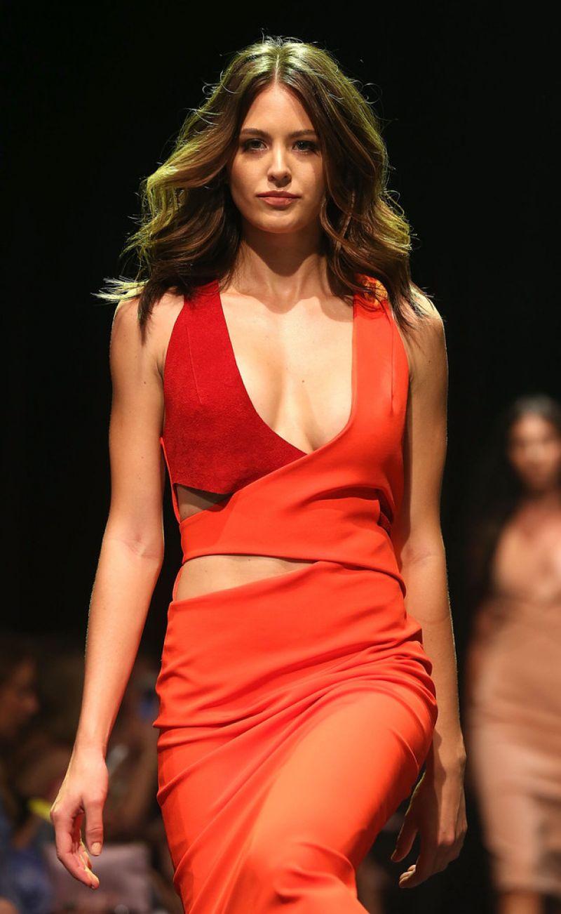 JESINTA CANPBELL at David Jones Autunb/Winter 2016 Fashion Launch in Sydney 02/03/2016