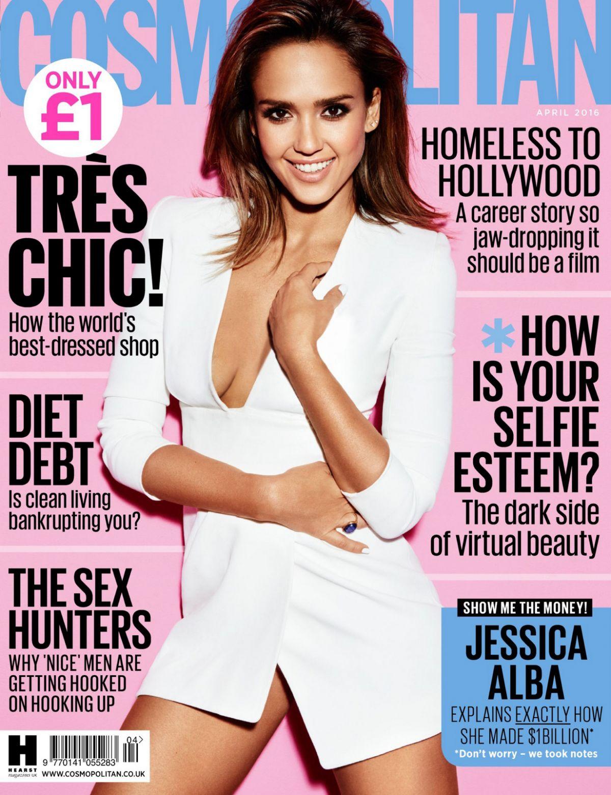 JESSICA ALBA in Cosmopolitan Magazine, Russia September