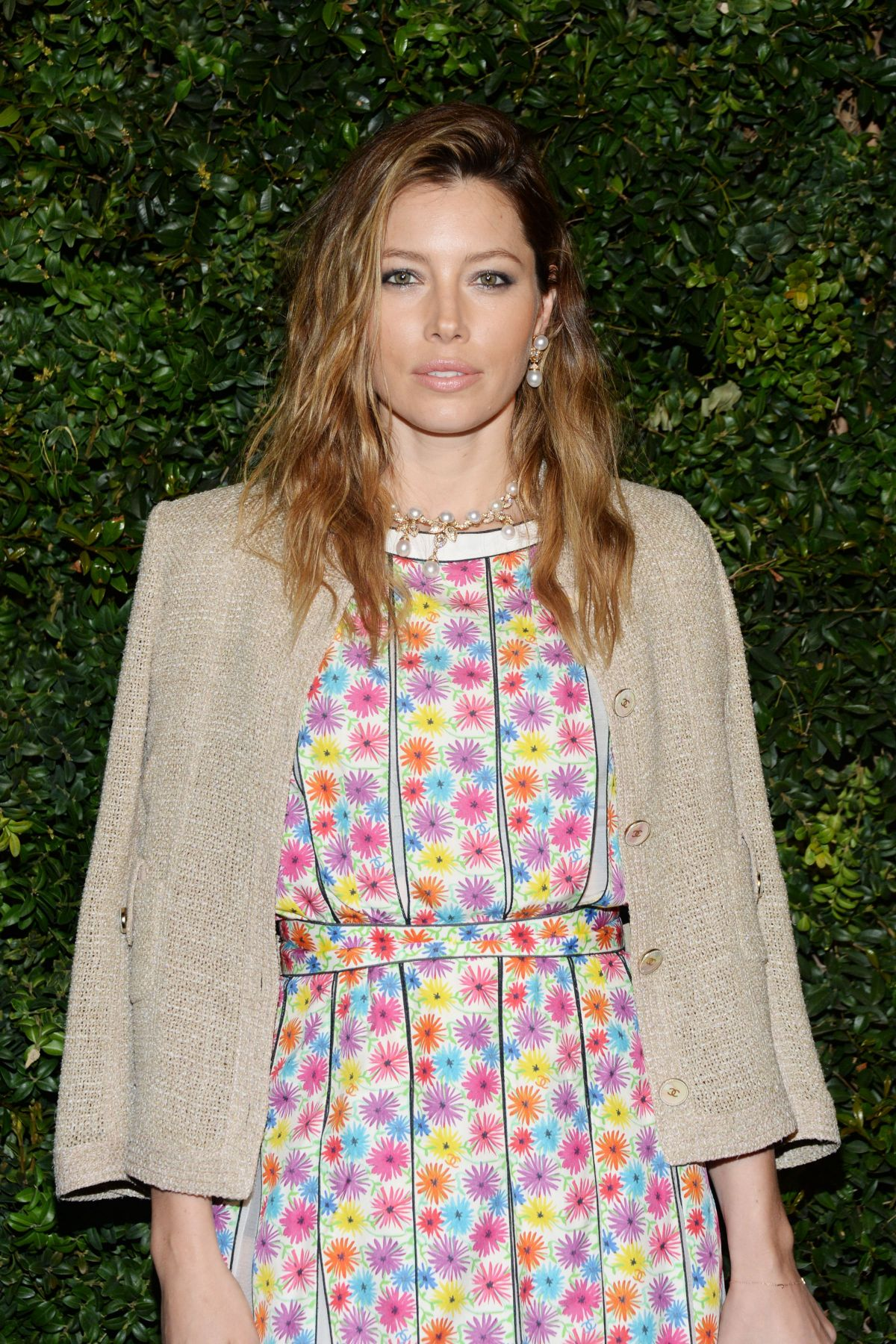JESSICA BIEL at Chanel and Charles Finch Pre-oscar Party in Los Angeles 02/27/2016