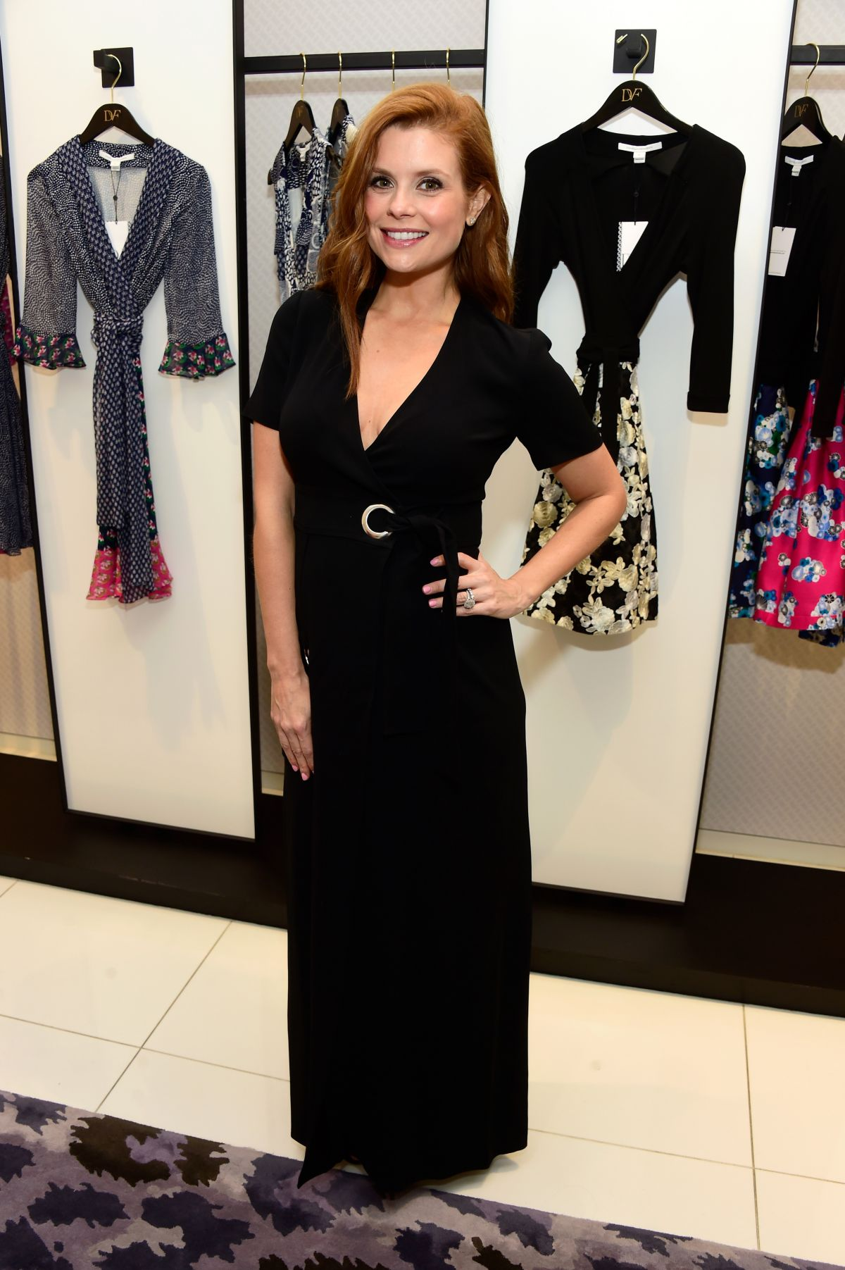 JOANNA GARCIA SWISHER at a Shopping Event at Diane Von Furstenberg in Los Angeles 02/25/2016