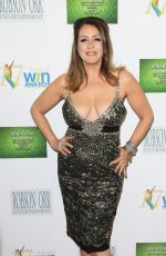 JOELY FISHER at 17th Annual Women's Image Awards in Westwood 02/10/2016