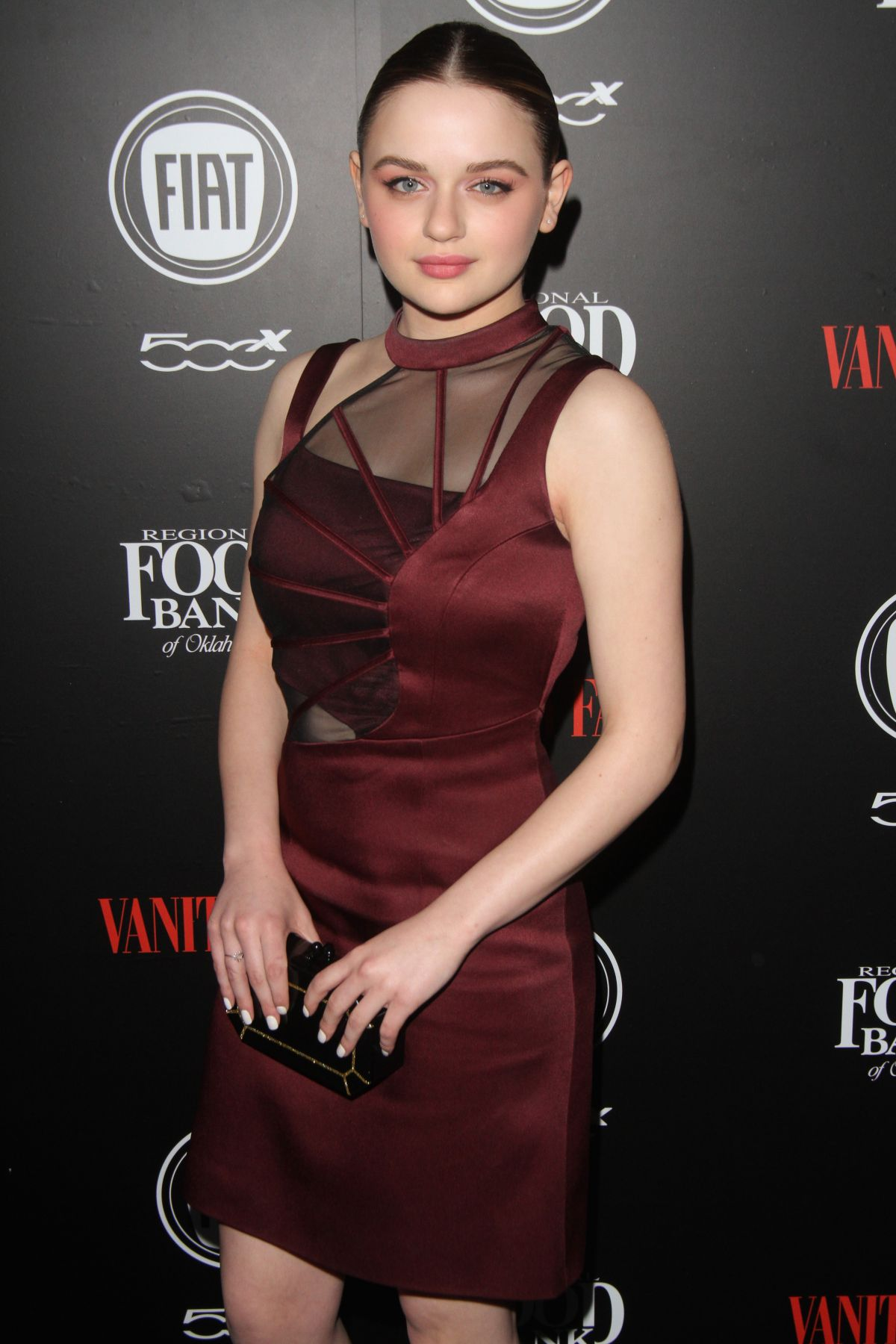 Joey King Hot joey king at vanity fair and fiat young hollywood