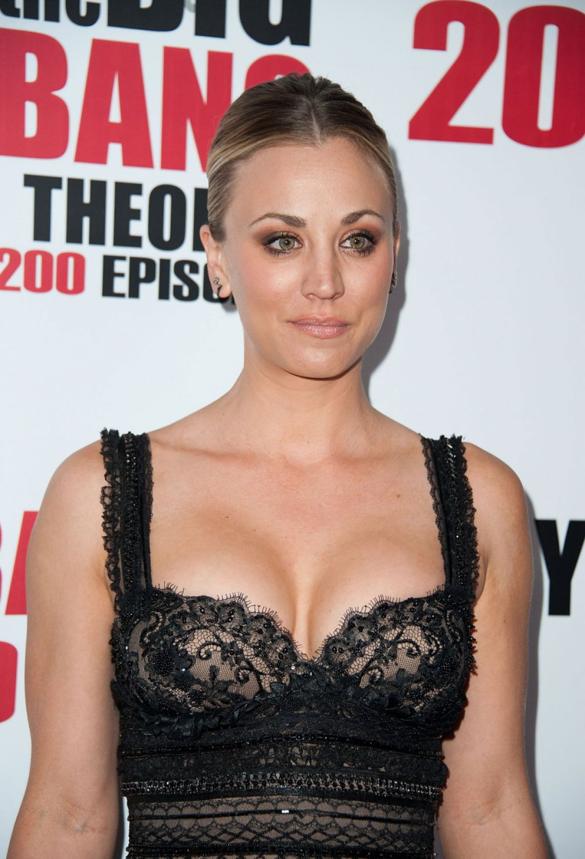 KALEY CUOCO at Tthe Big Bang Theory 200th Episode Celebration in Los Angeles 02/20/2016