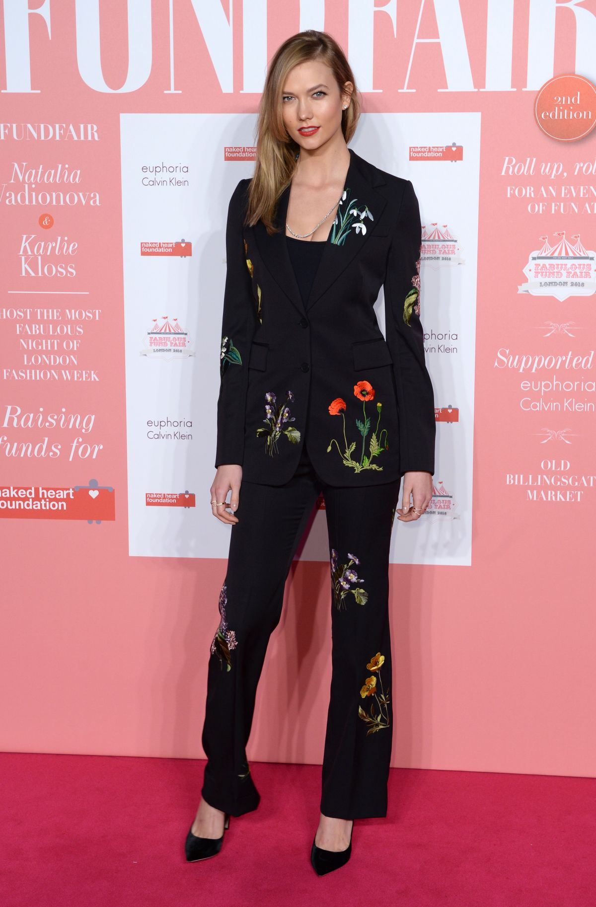KARLIE KLOSS at Naked Heart Foundation's Fabulous Fund Fair in London 02/20/2016