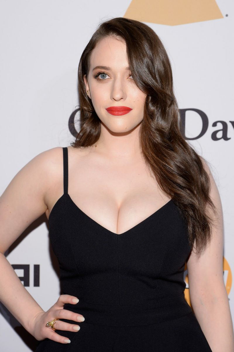 KAT DENNINGS at 2016 Pre-grammy Gala and Salute to Industry Icons in Beverly Hills 02/14/2016