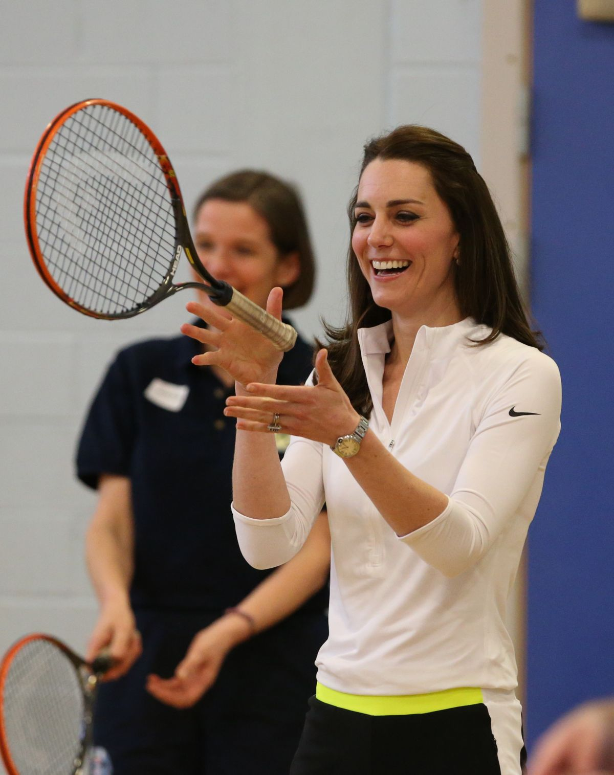 KATE MIDDLETON at Craigmoount High School in Edinburgh 02/24/2016