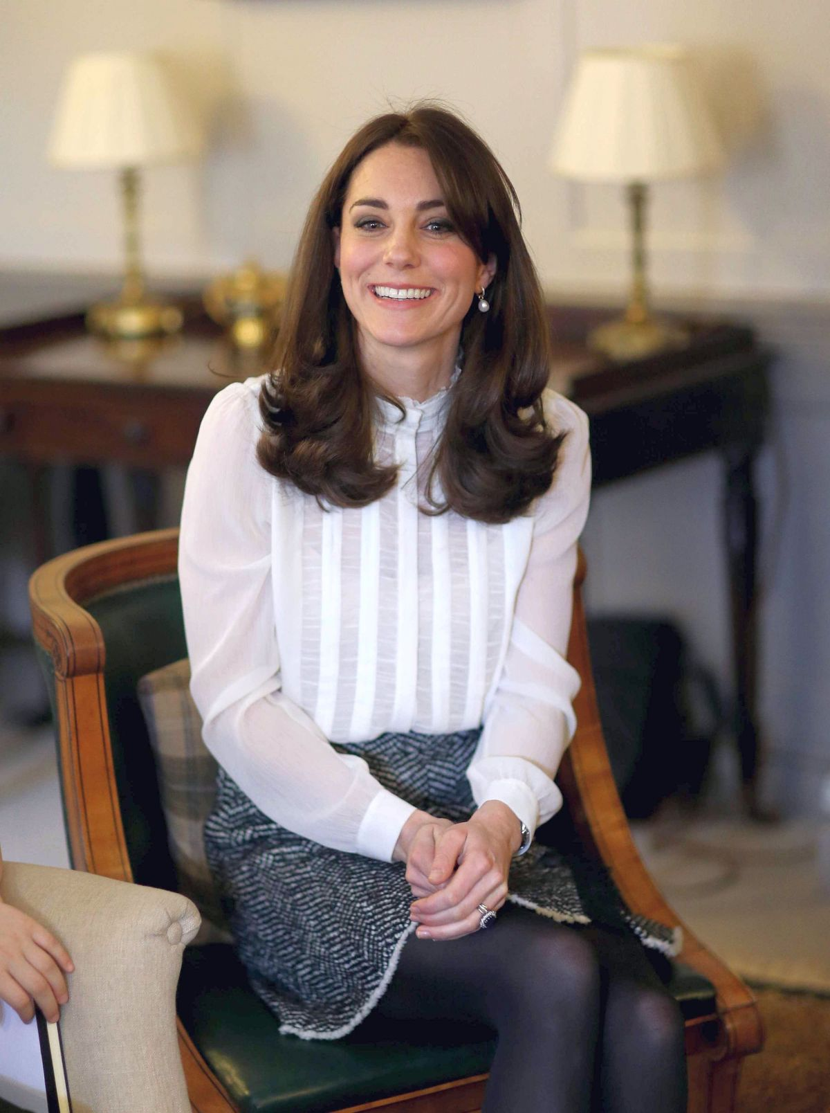 Kate Middleton At Launch Of Huffington Post Uk S Young