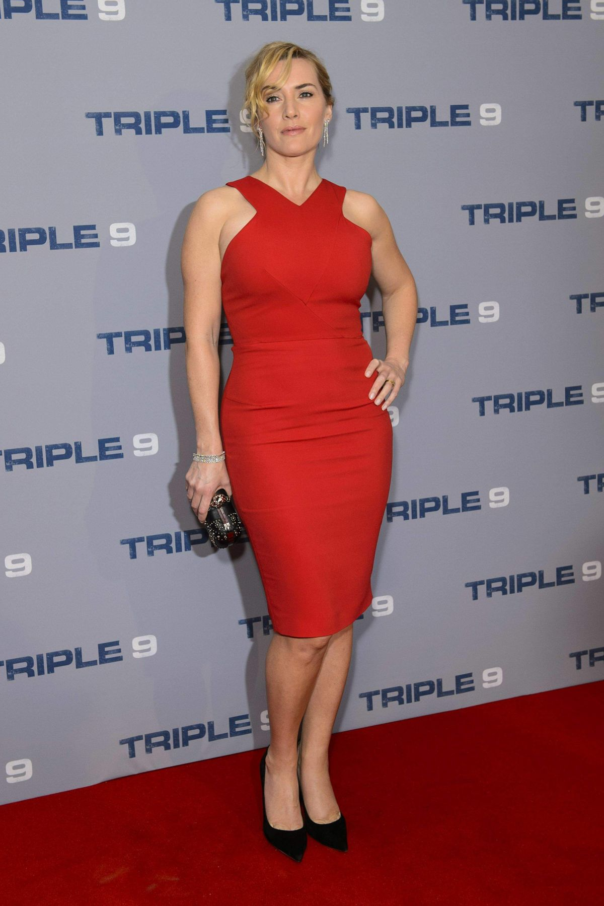 KATE WINSLET at Triple...