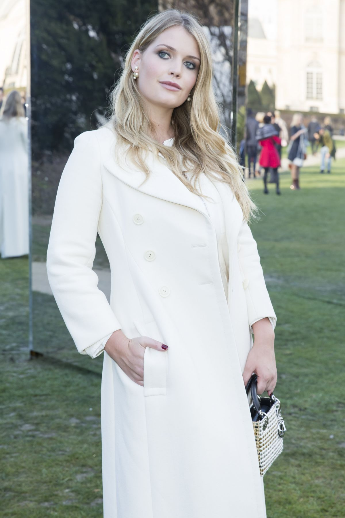 KITTY SPENCER at Christian Dior Fashion Show in Paris 01/25/2016
