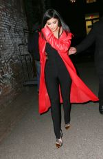 KYLIE JENNER Night Out in New York 02/12/2016
