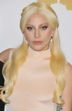 LADY GAGA at 88th Annual Academy Awards Nominee Luncheon in Beverly Hills 02/08/2016