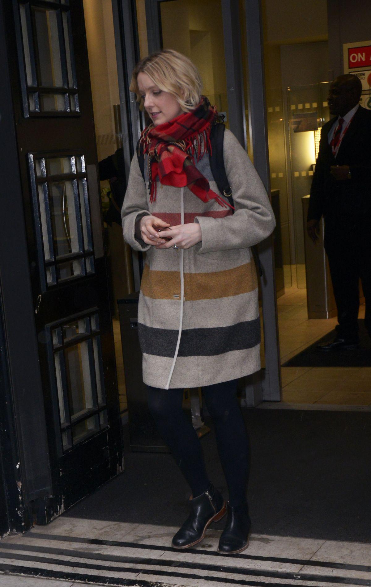 LAUREN LAVERNE Leaves BBC Radio 6 in London 01/26/2016