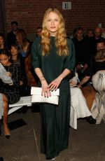 LEVEN RAMBIN at Christian Siriano Fall 2016 Fashion Show at NYFW 02/13/2016