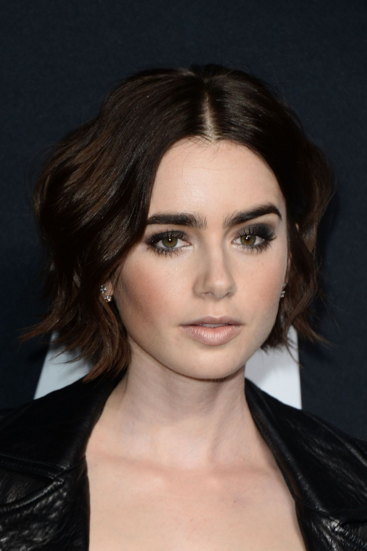 LILY COLLINS at Saint ...