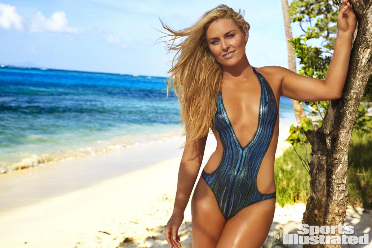 LINDSEY VONN in Sports Illustrated Swimsuit Bodypaint Issue 2016