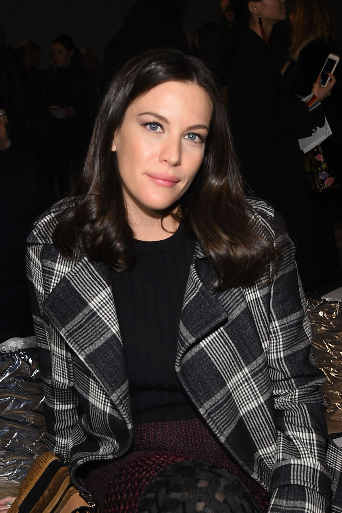 LIV TYLER at Proenza Schouler Fashion Show in New York 02/17/2016 ... Liv Tyler