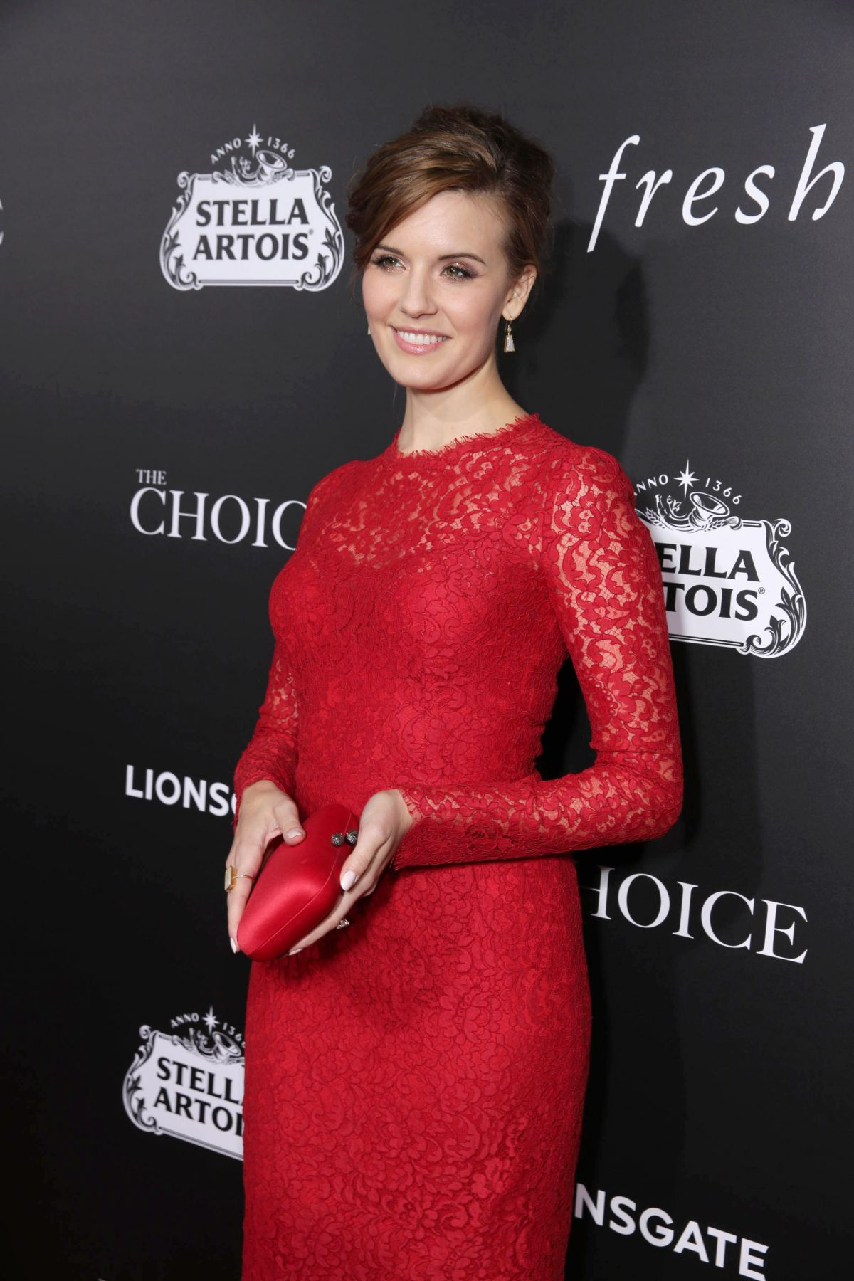 MAGGIE GRACE at The Choice Premiere in Hollywood 02/01/2016