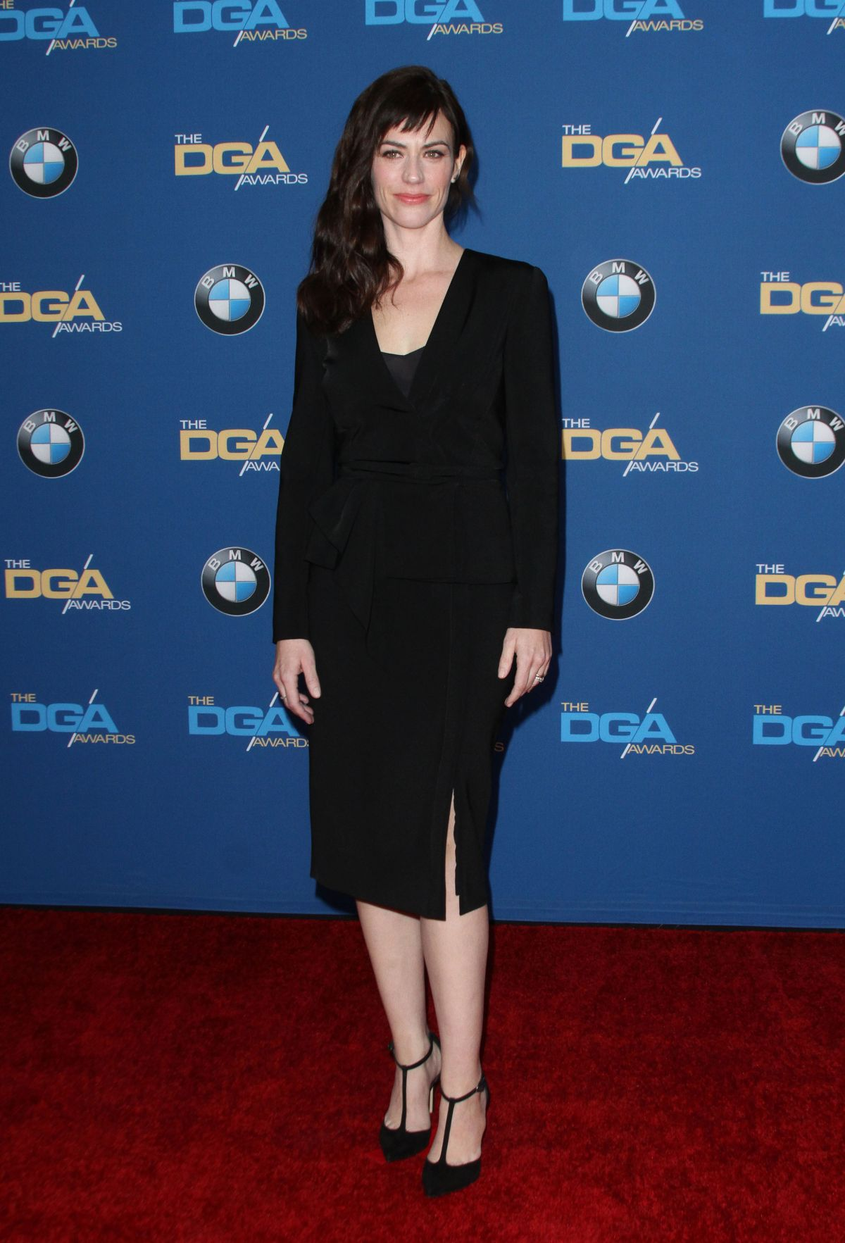 MAGGIE SIFF at 68th Annual Directors Guild of America Awards in Los Angeles 02/06/2016