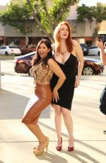 MAITLAND WARD and DEANA MOLLE Out in Los Angeles 02/16/2016