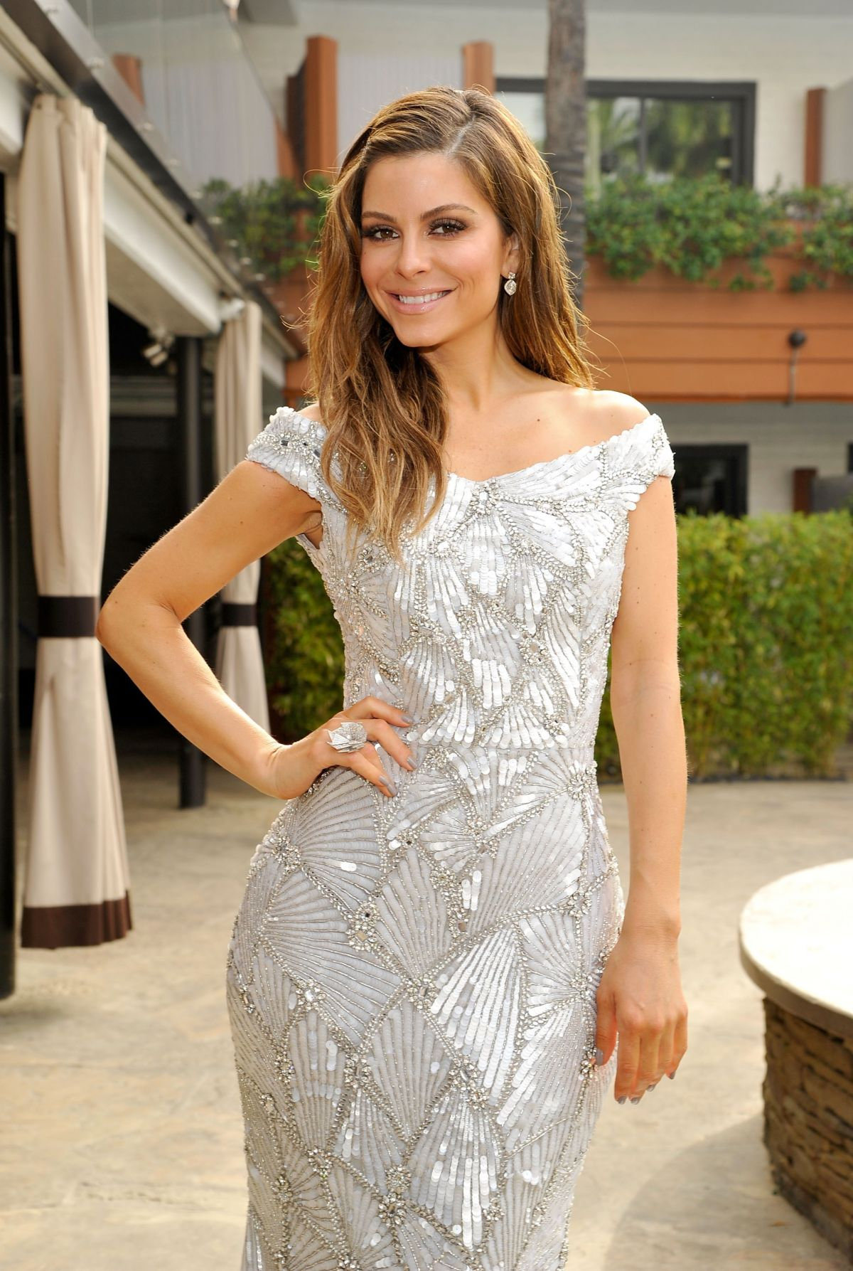 MARIA MENOUNOS at 88th Annual Academy Awards in Hollywood 02/28/2016